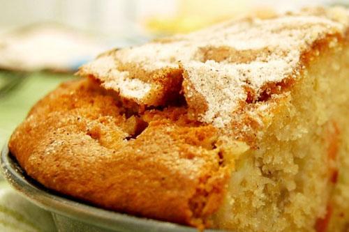 Gâteau à la rhubarbe de Monette
