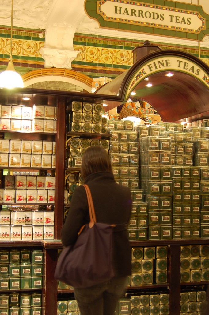 Harrods teas