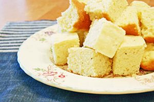 Maine Johnnycake (cornbread)