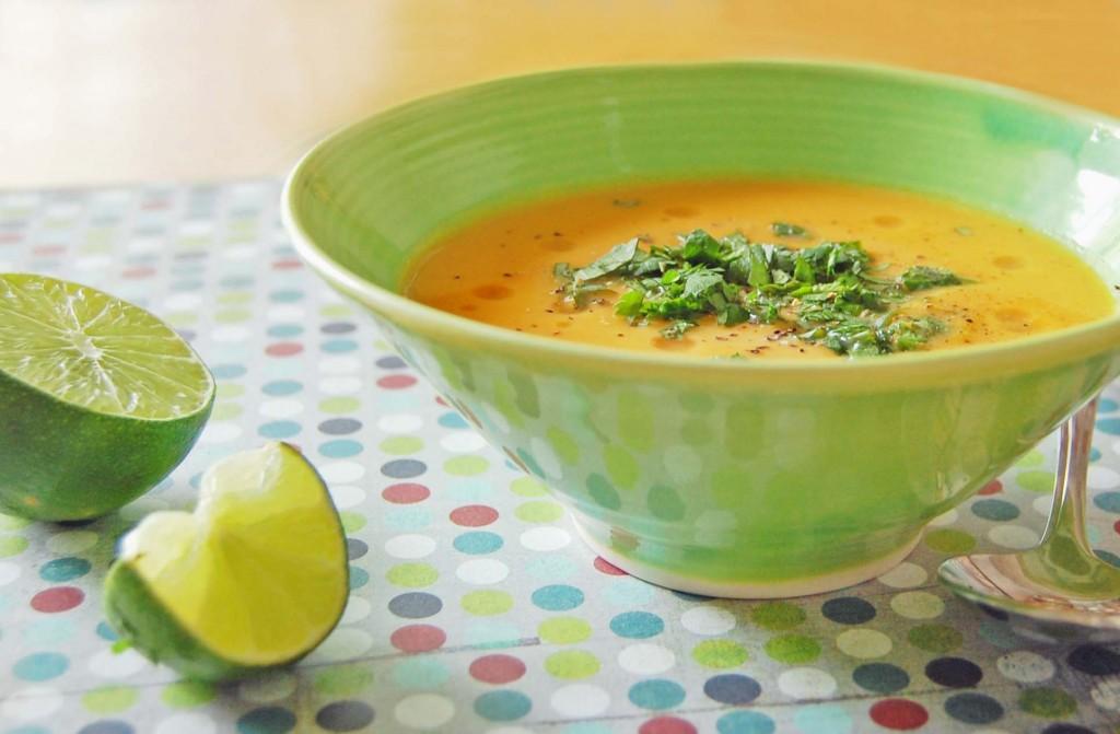 soupe citrouille thai