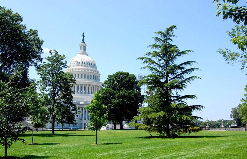 Washington au ciel bleu