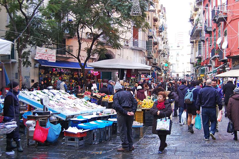 Marché de Naples