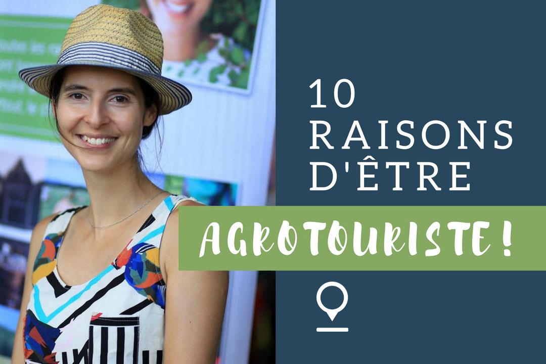 Conférence sur l'agrotourisme par Julie Aubé