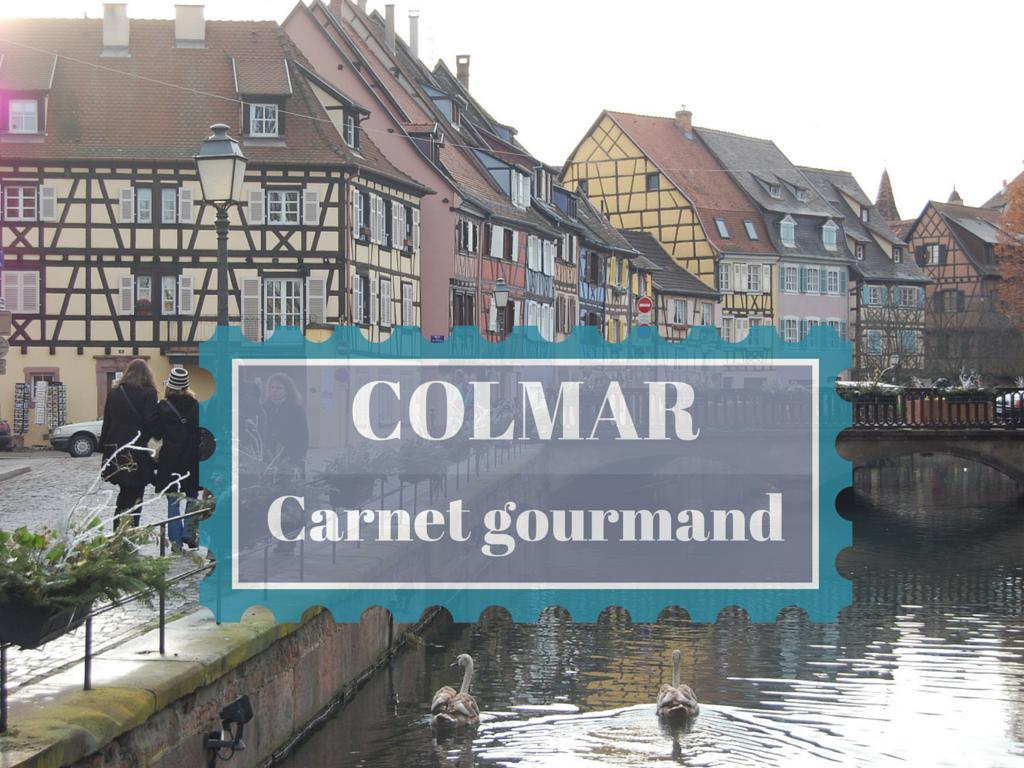 COLMAR carnet gourmand