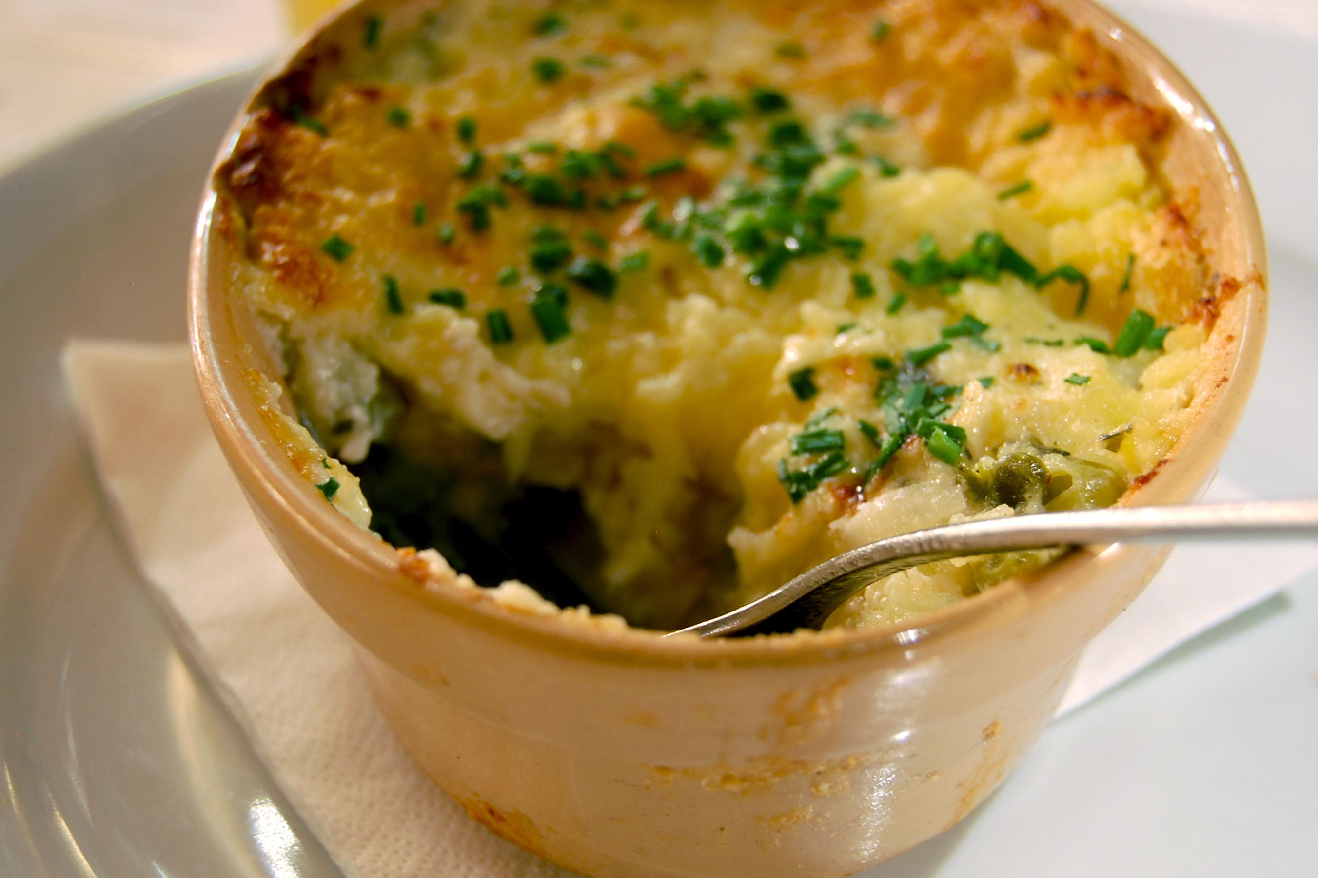 Duo anglais fish pie et brais d 39 agneau julie aub - Recette de jamie oliver sur cuisine tv ...