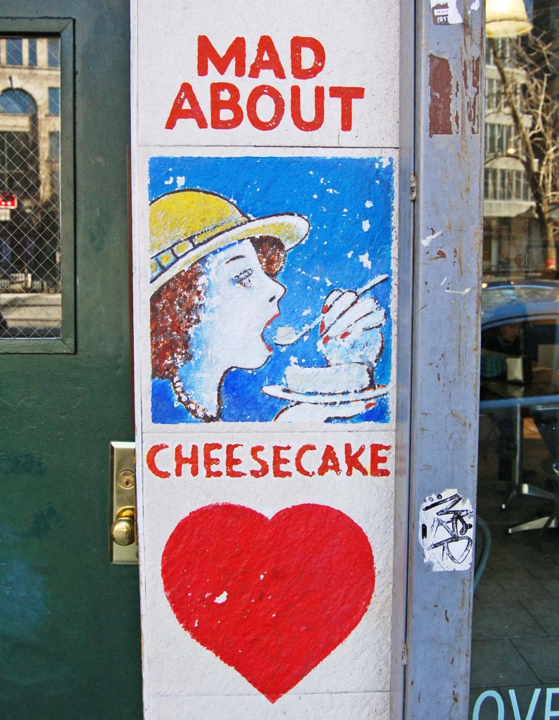 Mad about cheesecake