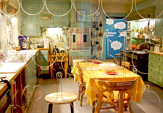 La cuisine de Julia Child, exposée au National Museum of American History, Washington DC