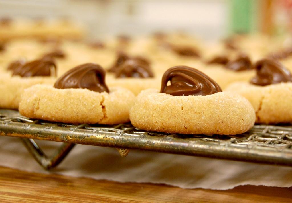 Biscuits moelleux au beurre d'arachide et chocolat
