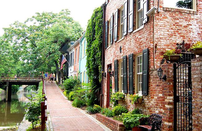 Près du canal dans Georgetown