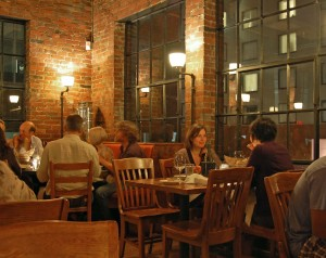 Salle à manger, Fore Street