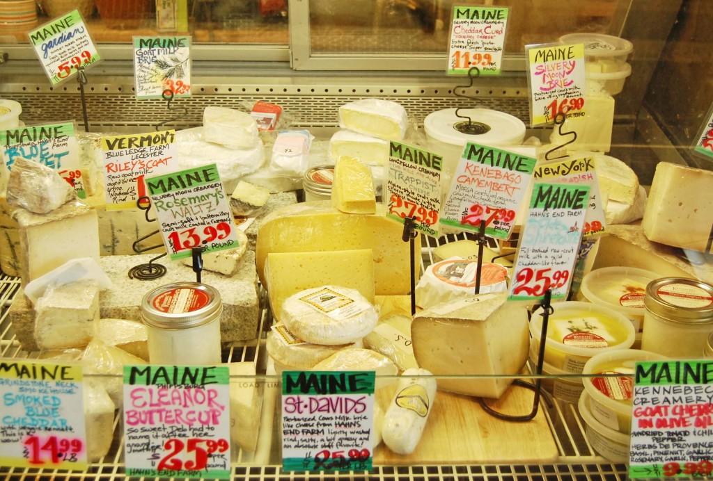 Sélection de fromages du Maine, Public Market House