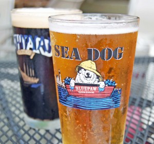 Blueberry Sea Dog Beer, Maine