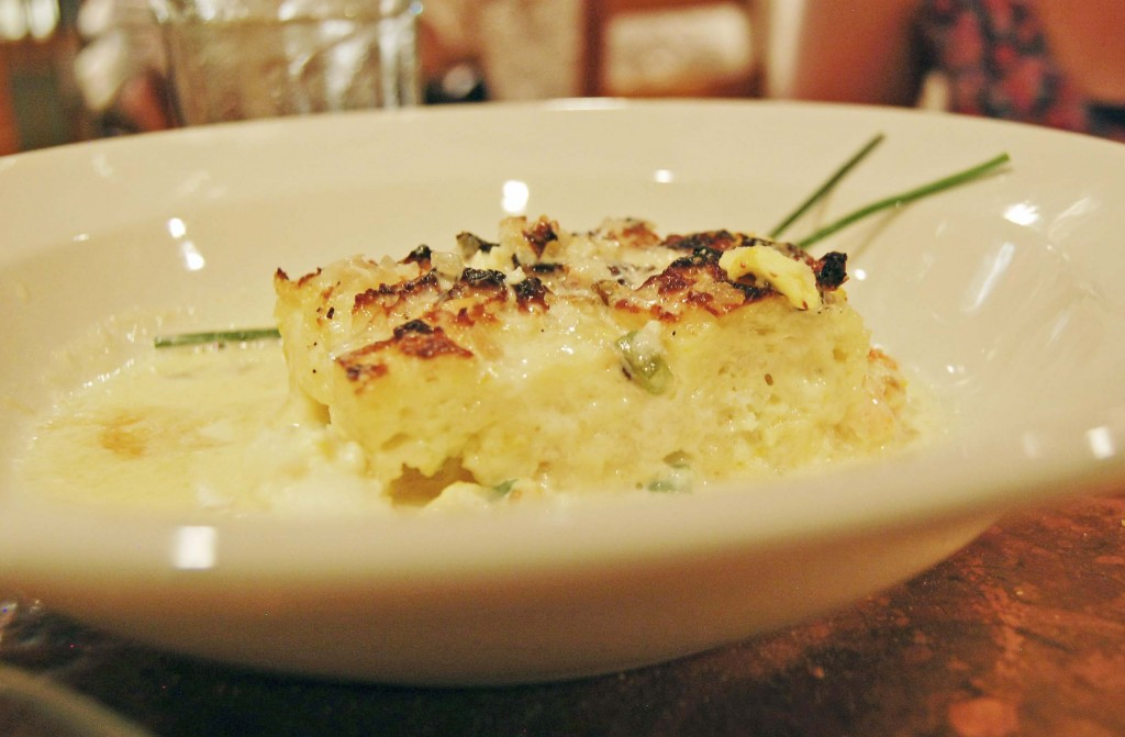 Lobster Bread Pudding, Street & Co