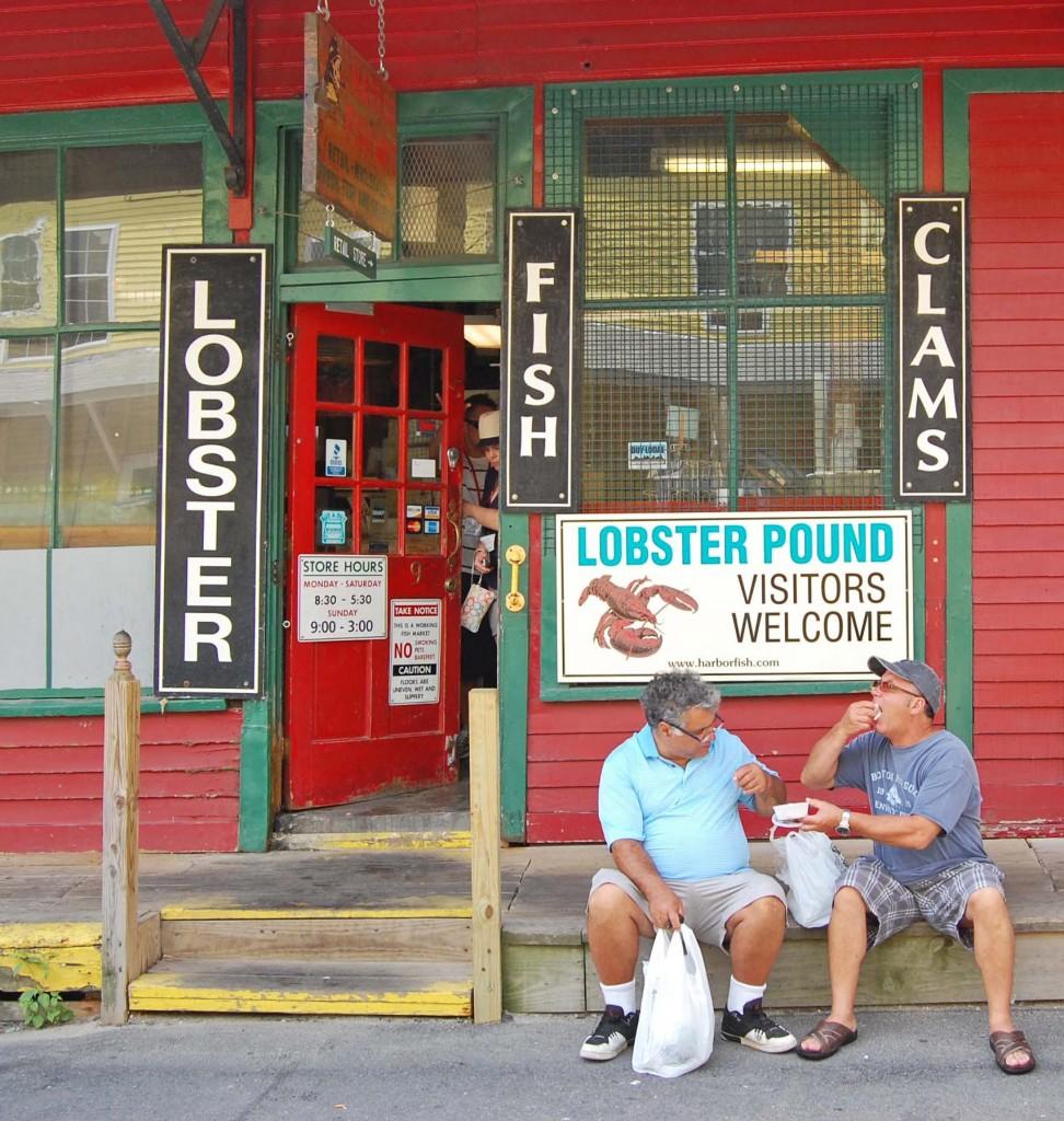 Harbor Fish Market, quais de Portland