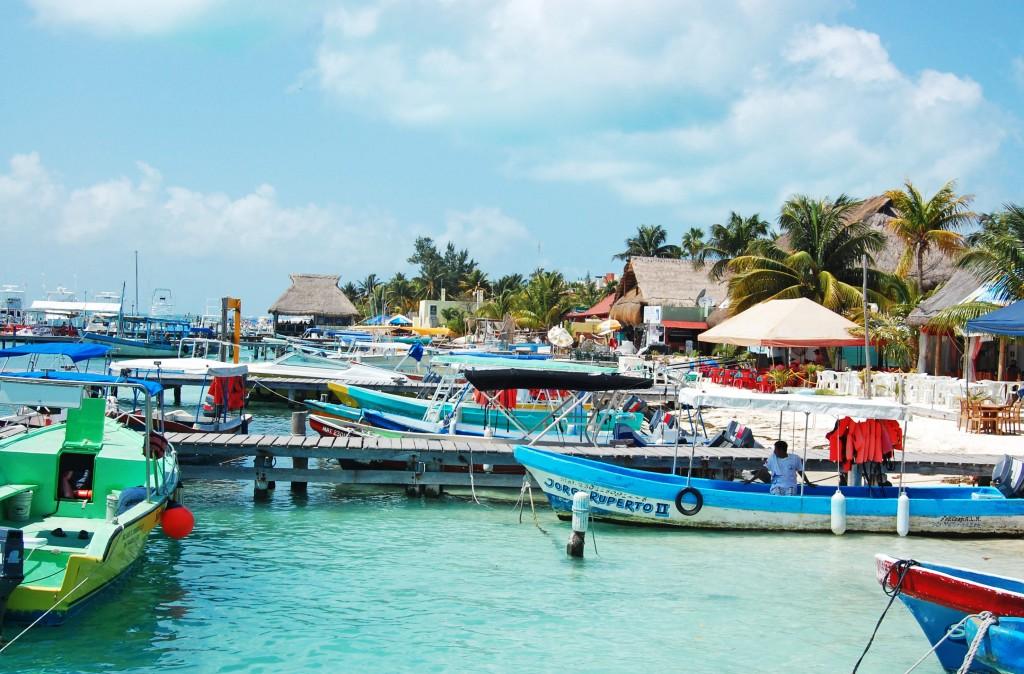 Bâteau de pêcheurs, Isla Mujeres