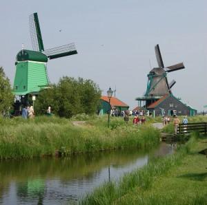 Moulins à vent - hollande