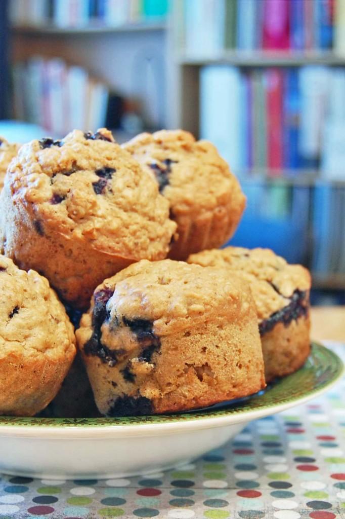 muffins bleuets citron