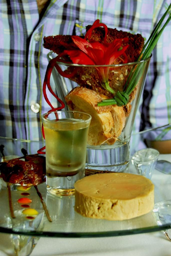Prieuré-foie gras-sauterne