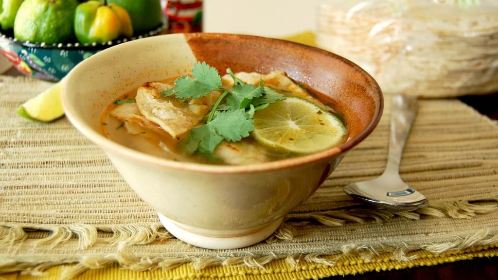 Sopa de lima top image