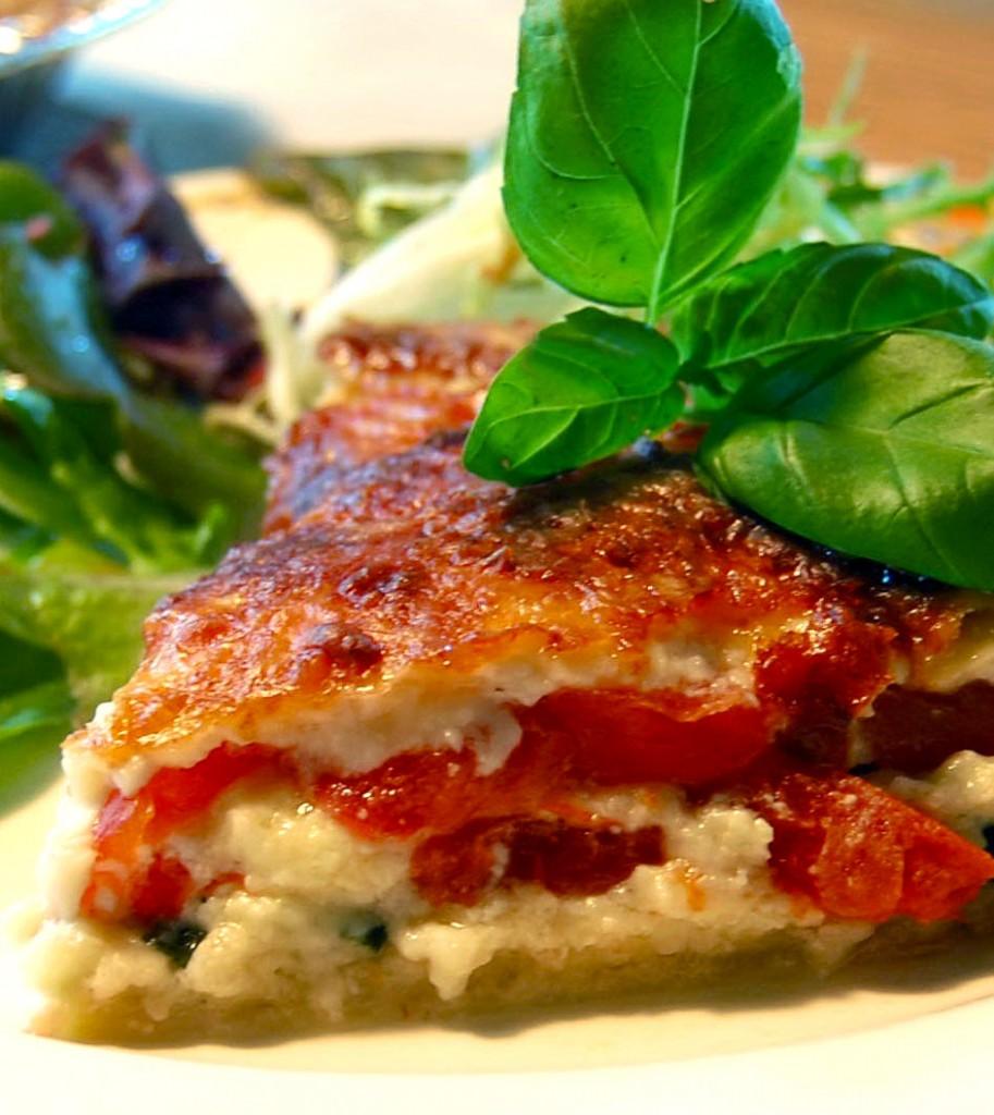 Tarte aux tomates et au fromag