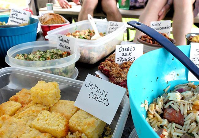 buffet de recettes du blogue julieaube.com