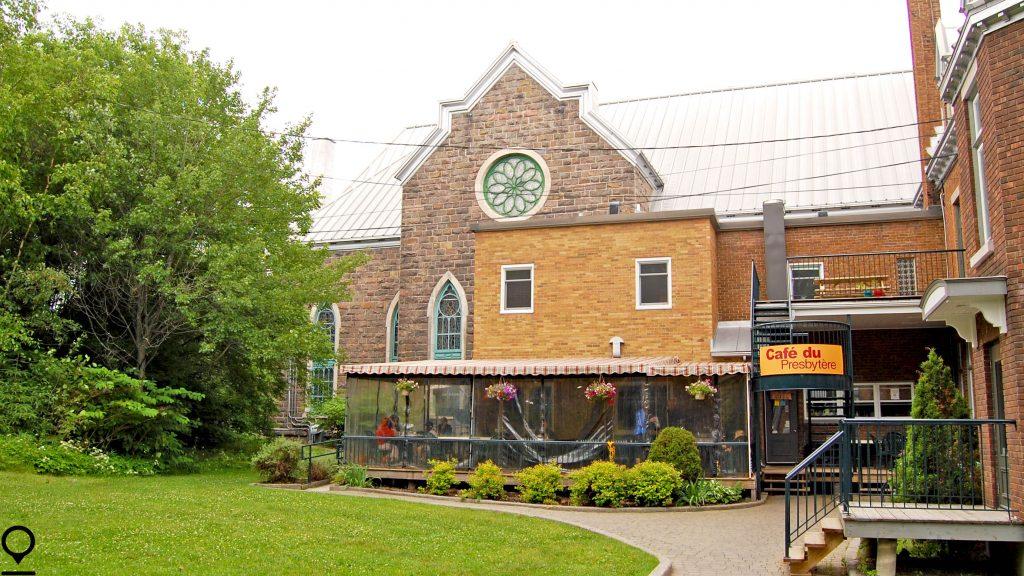 cafe du presbytere - extérieur