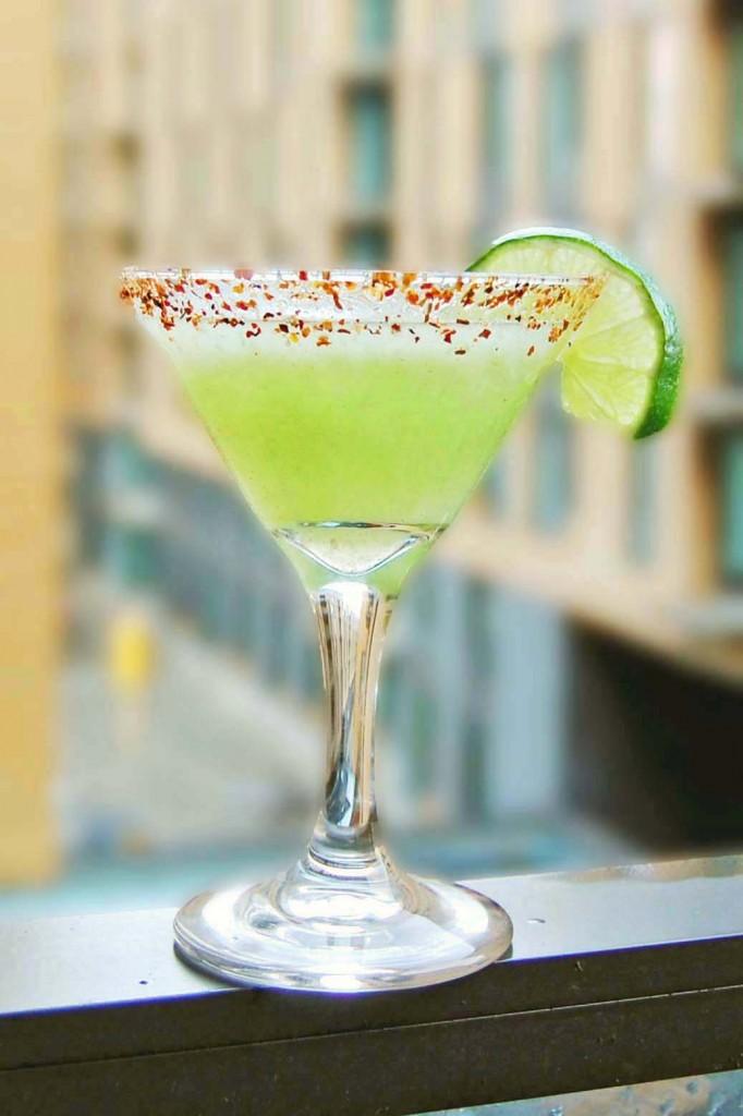 cocktail martini mexicain concombre