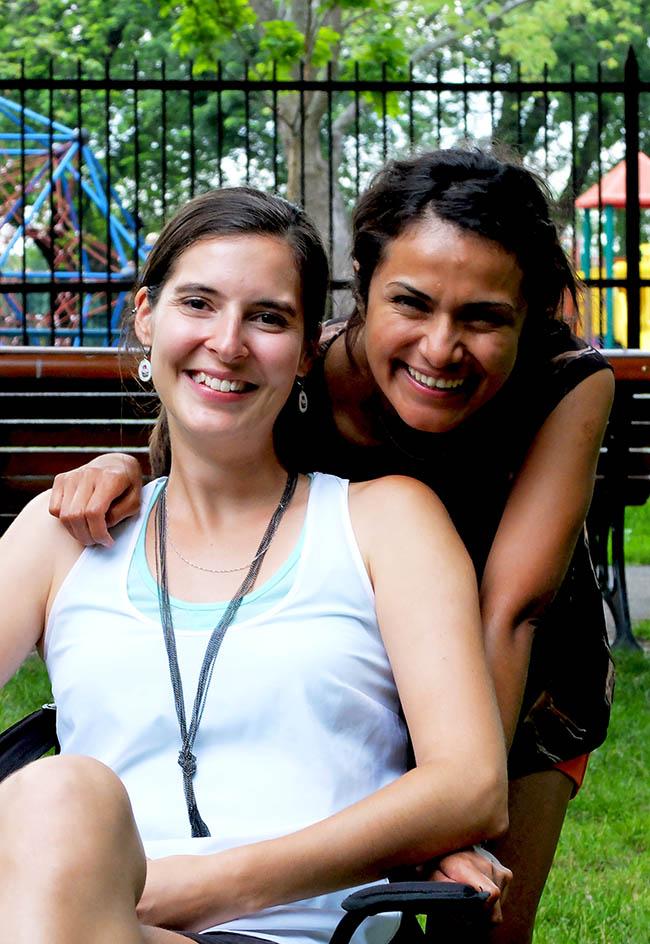 Julie Aubé et Tania Jimenez