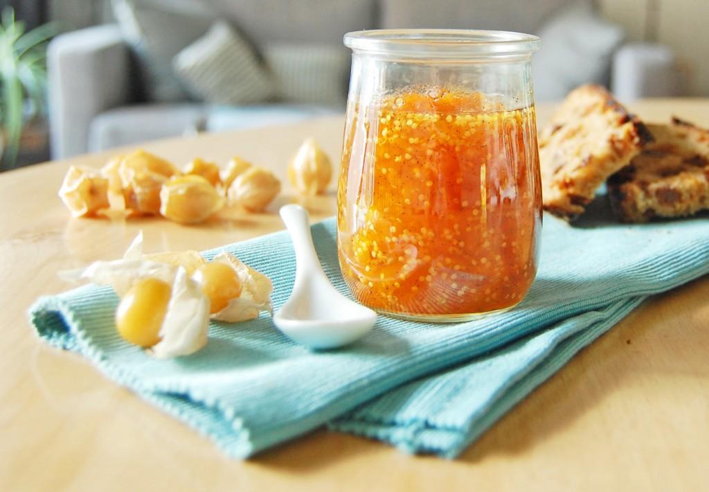 marmelade cerise de terre