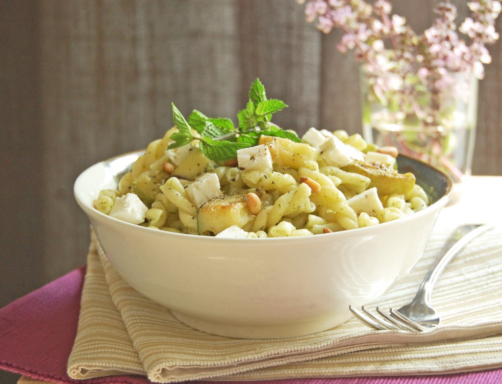 pates_gemelli courgettes