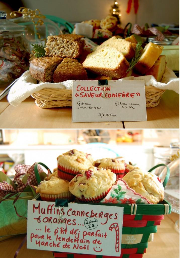 production pour le marché de Noël