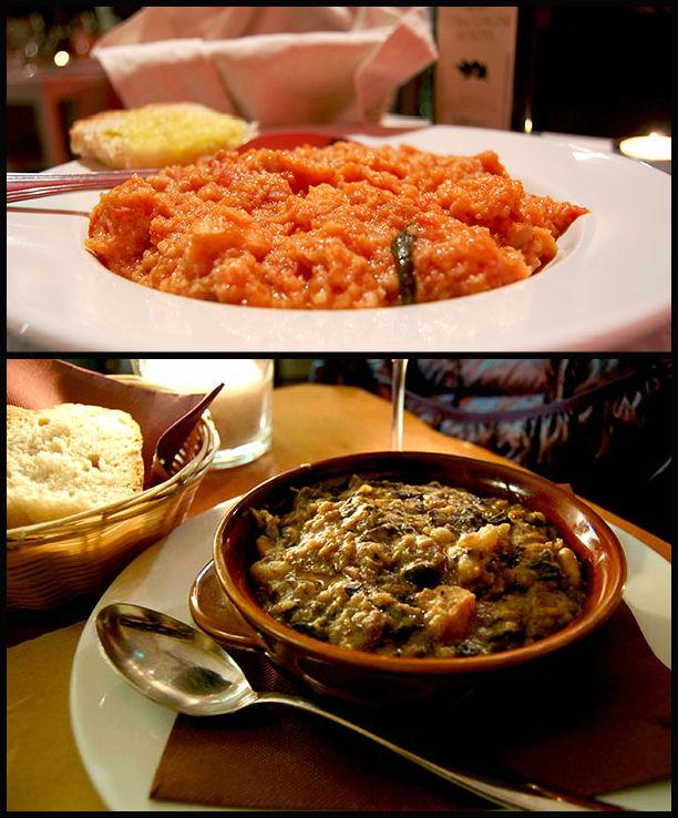 soupes toscanes Ribollita et pappa al pomodoro