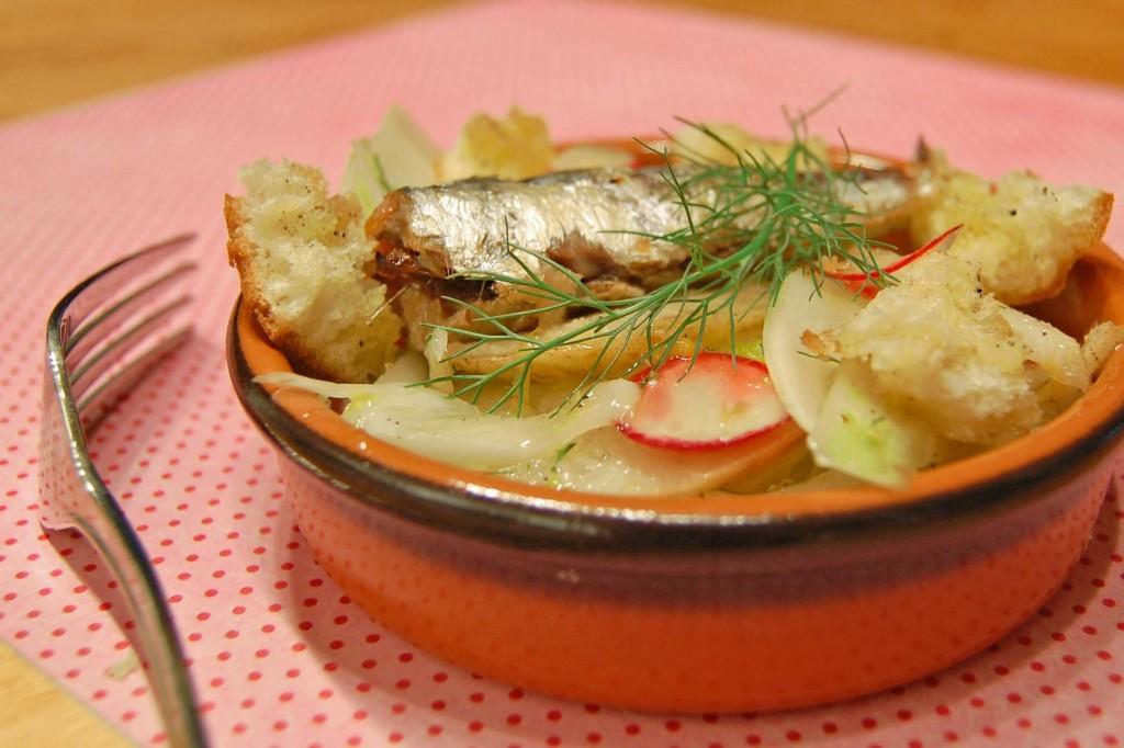tapas sardine fenouil
