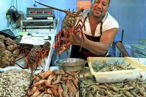 Visite au marché aux poissons de Niterói