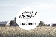 Prenez le champ avec Caribou