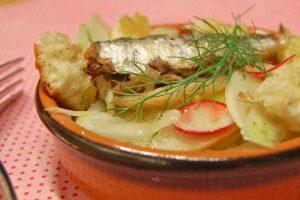Salade de sardines