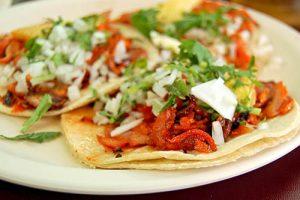 Manger mexicain à Playa del Carmen