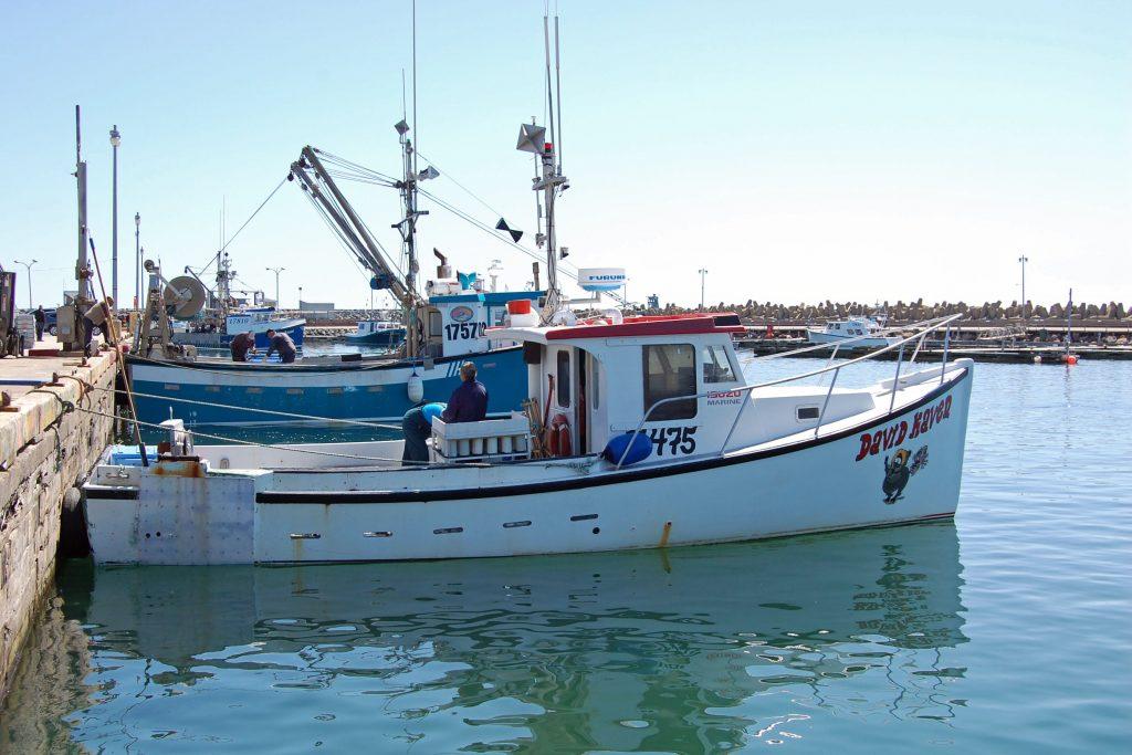 Bateau homardier des Îles-de-la-Madeleine