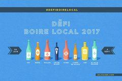 Défi boire local 2017