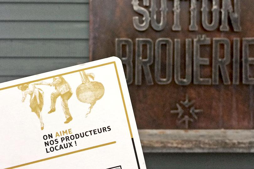 """""""Locavoriser"""" un menu: l'histoire de l'Auberge Sutton Brouërie"""
