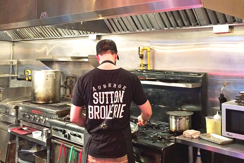 cuisine de Sutton Brouerie