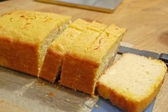 Cake à l'érable et au safran