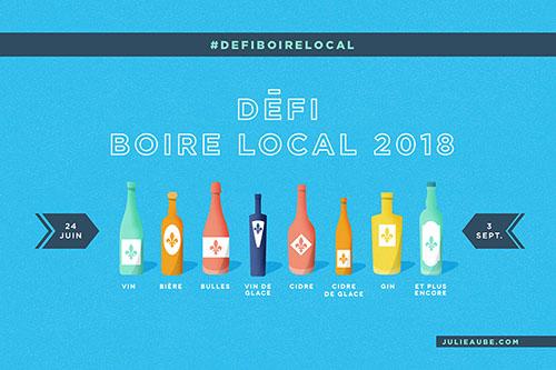 Défi boire local 2018 – 4e édition