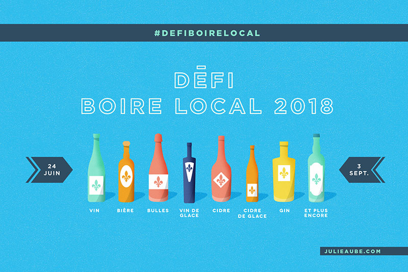 Défi boire local 2018 - 4e édition