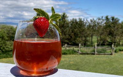 Limonade de fraises 100% locale